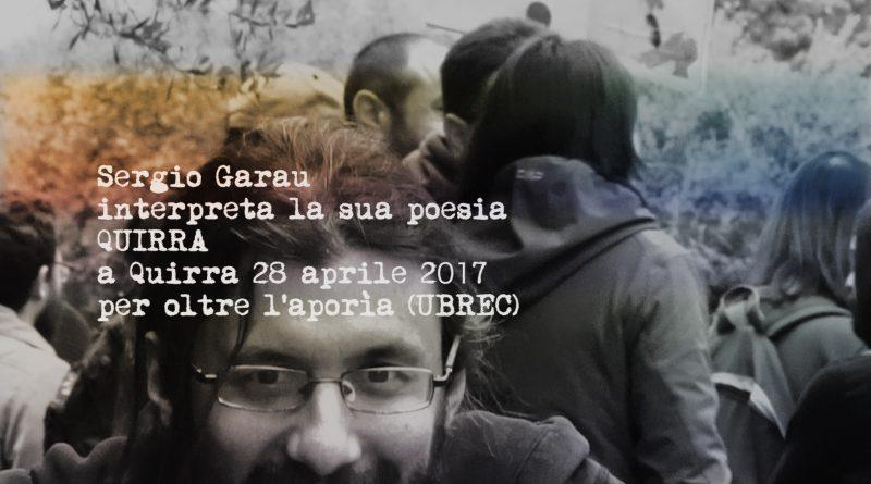 Sergio Garau – intervista integrale per Oltre l'aporìa