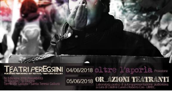 Laboratorio intensivo Ubrec al Festival Teatri Peregrini 2018