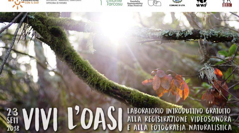 Vivi l'oasi: Laboratorio introduttivo alla registrazione videosonora ambientale e alla fotografia naturalistica.